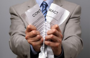 breach of a contract can be frustrating for both parties