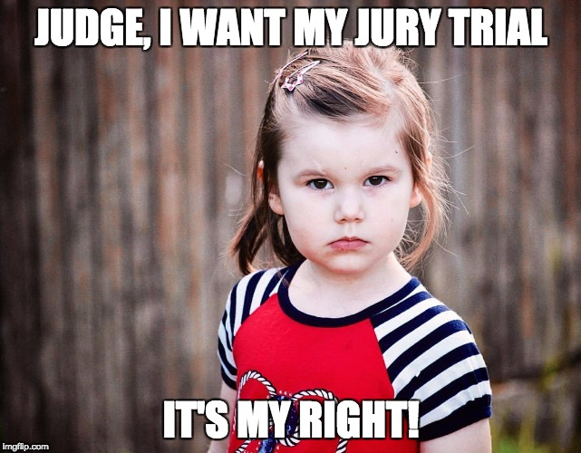 Can I have a jury? Yes!