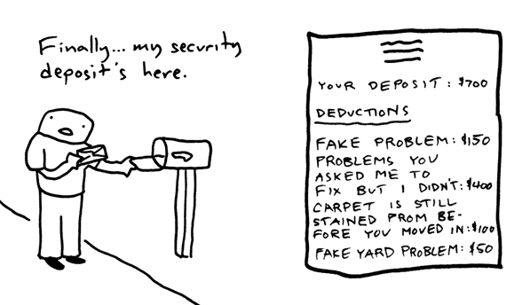 Massachusetts' Tenant Friendly Security Deposit Law